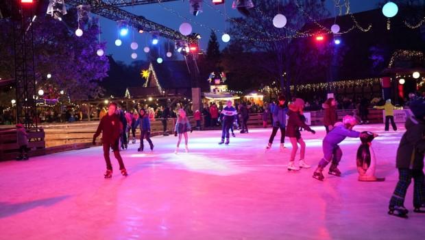 Eisdisco Winter Erlebnis-Zoo Hannover