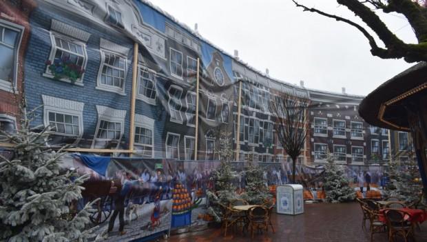Europa-Park Piraten in Batavia Baustelle Januar 2019