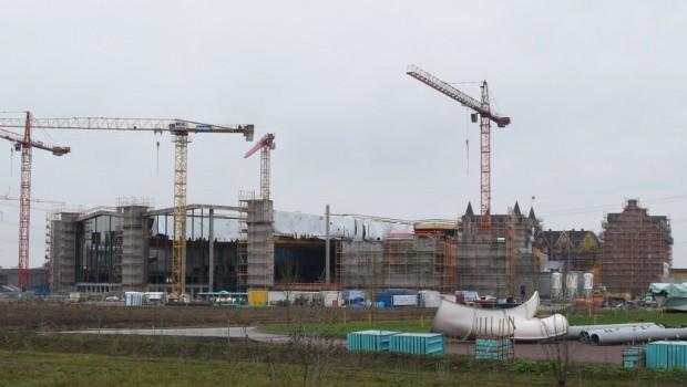 Europa-Park Baustelle Rulantica/Kronasar Januar 2019