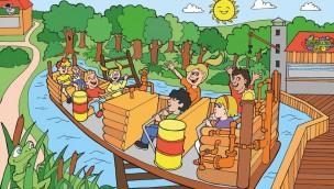 Familypark am Neusiedlersee 2019 neue Attraktion Wirbelsturm Konzept