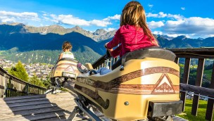 Fisser Flitzer Mountain Coaster Abfahrt