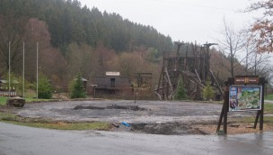 """FORT FUN Abenteuerland beginnt erste Bauarbeiten für neue Überkopf-Attraktion """"Thunderbirds"""""""