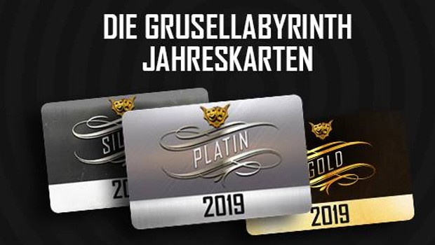 Grusellabyrinth NRW Jahreskarten