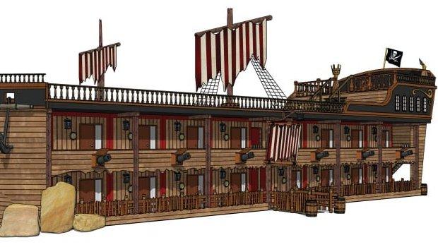 Gulliver's World neues Hotel Artwork