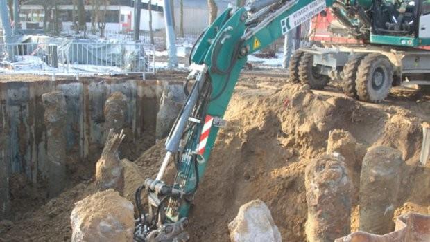 Hansa-Park Highlander Baustelle Januar 2019