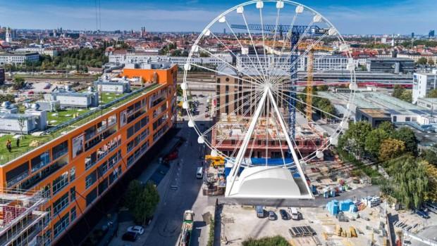 Riesenrad Maurer SE (Planung für Hi-Sky München)