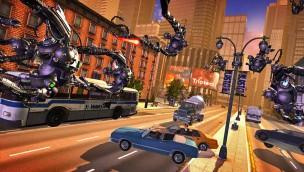 Interactive XD Dark Ride Robot Rio Triotech