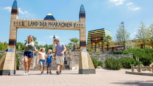 LEGOLAND Deutschland Land der Pharaonen Eingang