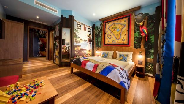 LEGOLAND Florida Piraten Insel Hotel Zimmer