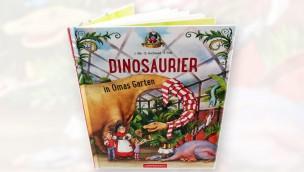 Madame Freudenreich Buch - Dinosaurier in Omas Garten Cover