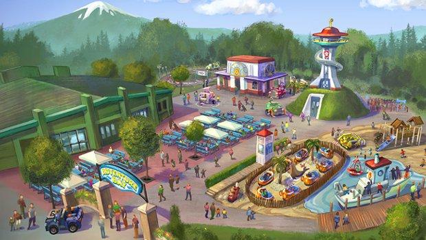 Movie Park Germany Adventure Bay Artwork (höhere Auflösung)