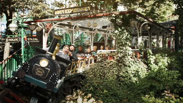 Odinexpressen Tivoli Kopenhagen MACK Powered Coaster