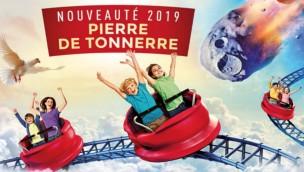 Parc du Petit Prince 2019 Neuheit Achterbahn Spinning Coaster Artwork