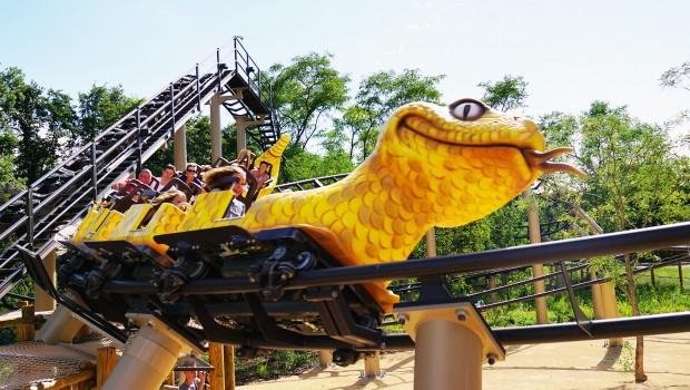 Parc du Petit Prince Achterbahn Le Serpent Schlange