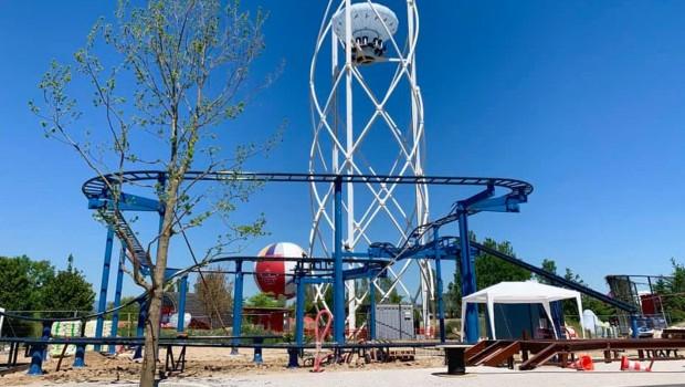 Parc du Petit Prince neue Achterbahn 2019 Baustelle