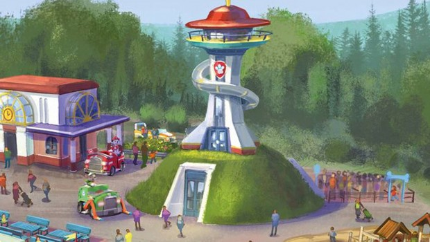 Paw Patrol Movie Park Germany Kommandozentrale Artwork