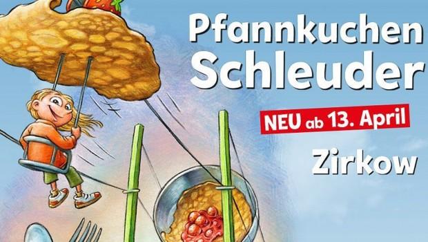 Karls Pfannkuchen-Schleuder Zirkow Artwork