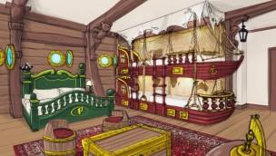 Plopsaland De Panne gibt weitere Einblicke in Gestaltung von neuem Themenhotel für 2020