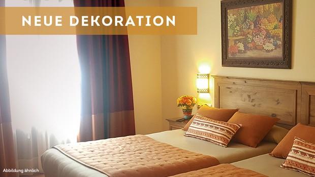 """Ein erster Eindruck von der Aufmachung der neuen Standard-Zimmer im """"Hotel El Paso"""". (Foto: PortAventura Wrold)"""