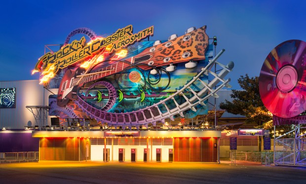 Rock'n'Roller Coaster in Disneyland paris