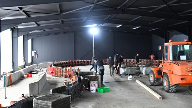 Schwaben-Park Azura Baustelle Januar 2019