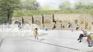 Tivoli Friheden arbeitet an 2-in-1-Attraktion für 2019 mit Eislaufbahn und Brunnen