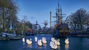 Tivoli Gardens in Kopenhagen in Winter-Saison 2019 neu mit Virtual-Reality-Erlebnis und Nordlichtern