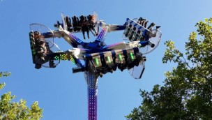 "The Pleasure Beach Great Yarmouth bietet 2019 Attraktion ""Air Maxx 360 Loop Fighter"""