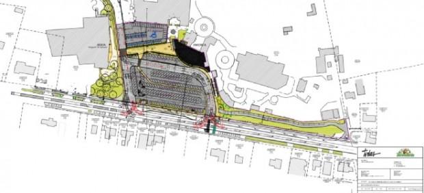 Bellewaerde Umstrukturierung Parkplatz