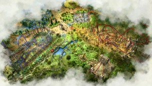 Bobbejaanland  Land of Legends Concept