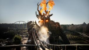 """25 Meter hoher Gigant wird Gegenspieler von """"Colossos"""" im Heide Park"""