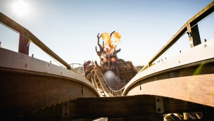 Colossos Kampf der Giganten OnRide Animation