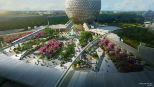 Epcot Walt Disney World Eingang neu 2022