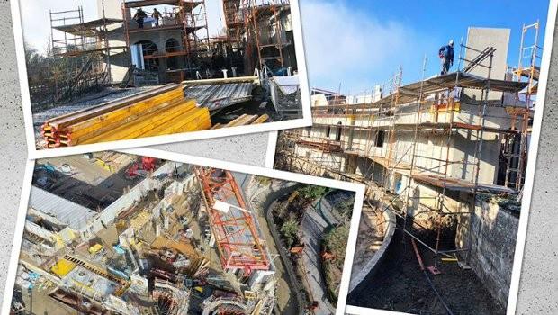 Europa-Park Wiederaufbau Skandinavien Februar 2019