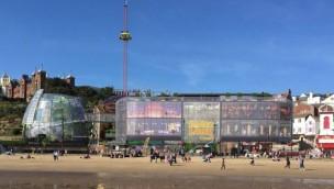 Neuer Freizeitpark Flamingo Land Coast Artwork