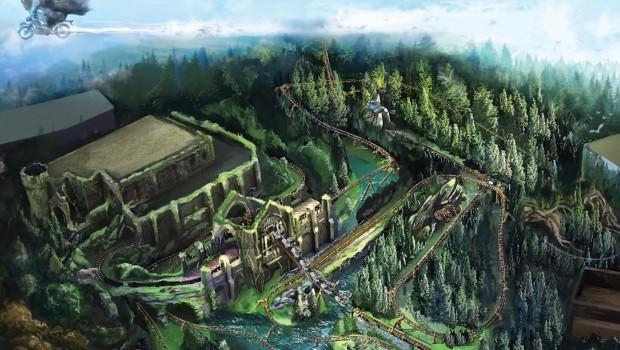 Hagrid Motorbike Coaster Universal Artwork
