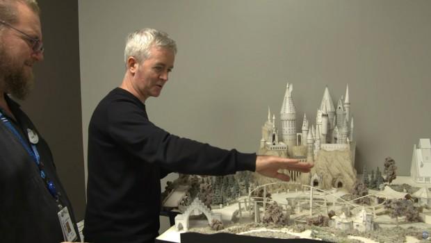 Harry Potter Achterbahn Universal Orlando Modell