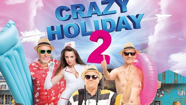 Holiday Park Wasserski-Show 2019 Crazy HOliday 2 Plakat