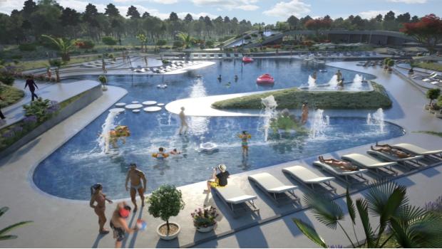 Paleo Park Pool