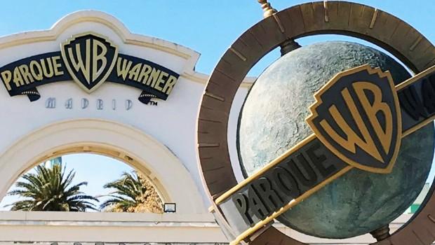 Parque Warner Madrid Eingangsportal