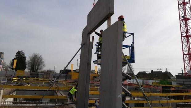 Plopsaland De Panne neues Hotel Baustelle Februar 2019