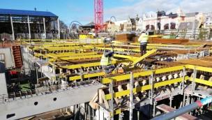 Plopsaland De Panne arbeitet an großer Tiefgarage von neuem Theater-Themenhotel für 2020