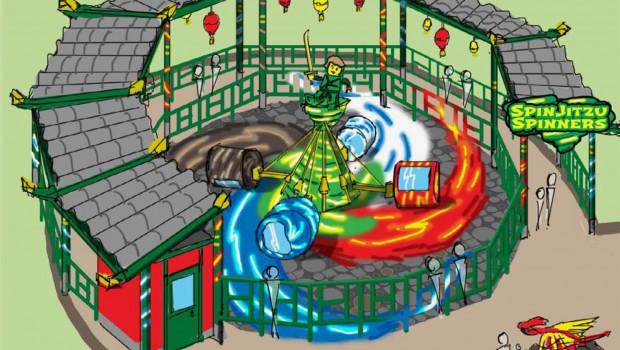 SPinjitzu Spinners LEGOLAND Japan Artwork