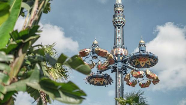 Tivoli Gardens Kopenhagen Fatamorgana Huss Condor