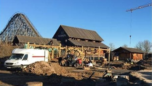 Tripsdrill neuer Spielplatz 2019 Baustelle