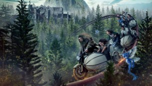 Universal's Islands of Adventure Harry Potter-Achterbahn 2019 Artwork