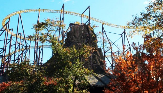 Volcano Kings Dominion Vulkan Achterbahn