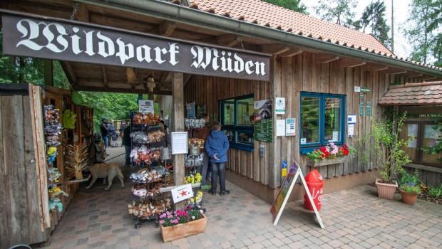 Wildpark Müden Eingang