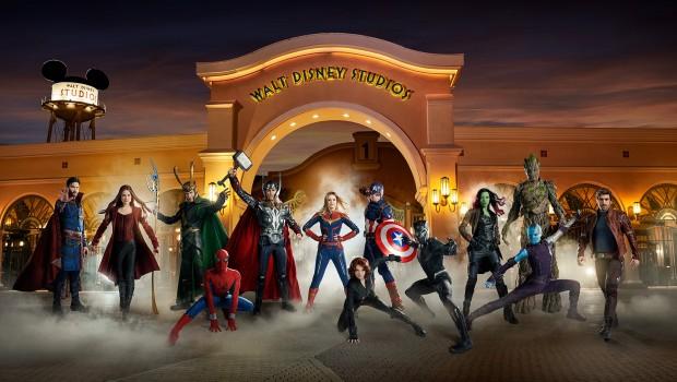 Disneyland Paris Marvel Superhelden Walt Disney Studios Park