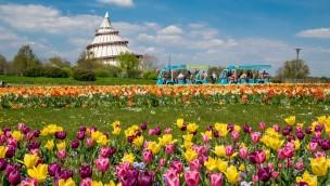 Elbauenpark zu Ostern 2019 mit besonderen Aktionen: Das wird geboten!